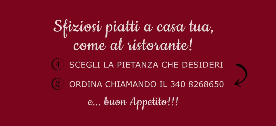 Ristorante Pizzaria Capriccio arriva a casa tua!